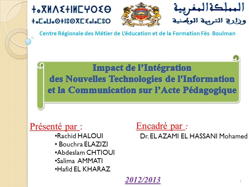 Impact de l'Intégration des Nouvelles Technologies de l Information