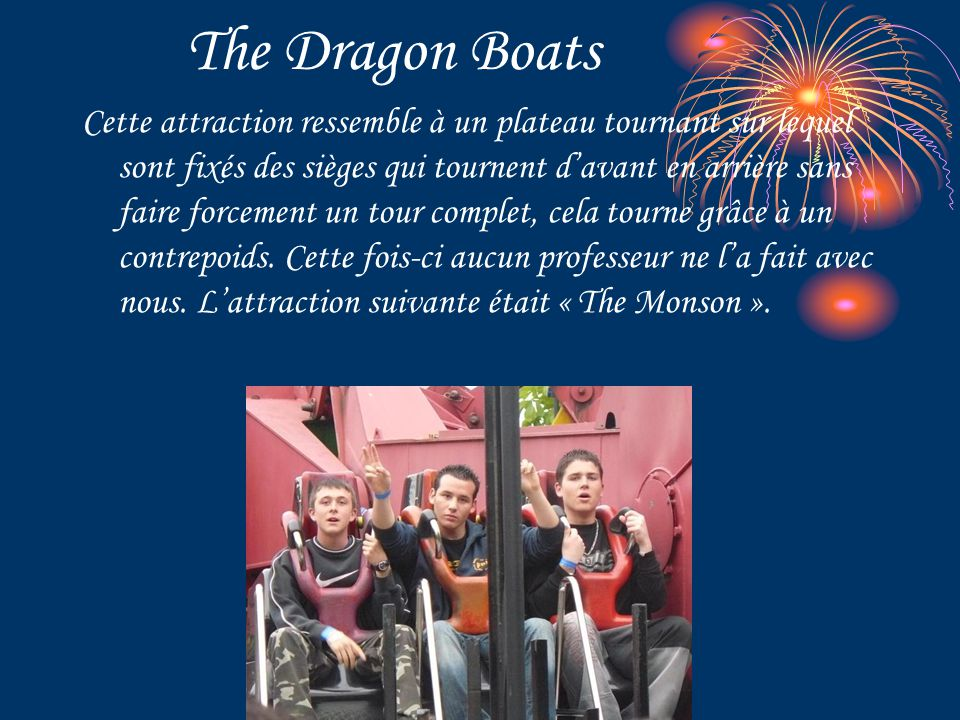 The Dragon Boats