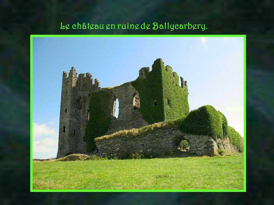 Le château en ruine de Ballycarbery.