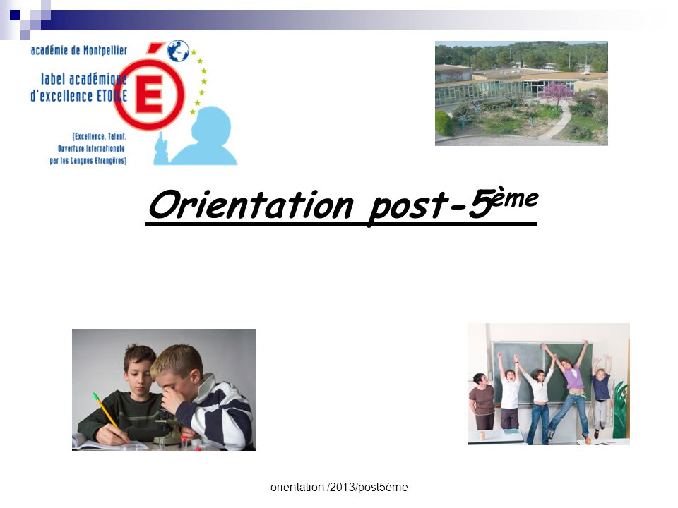 orientation /2013/post5ème