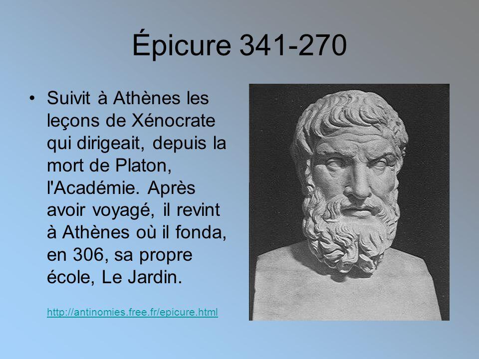 Épicure 341-270