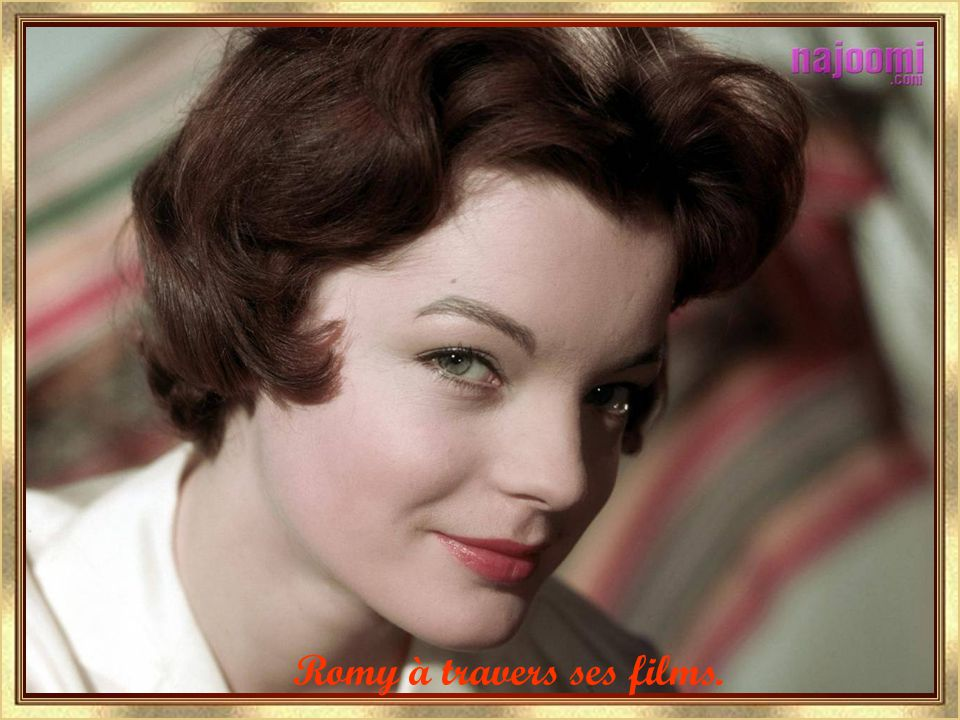 Romy à travers ses films.