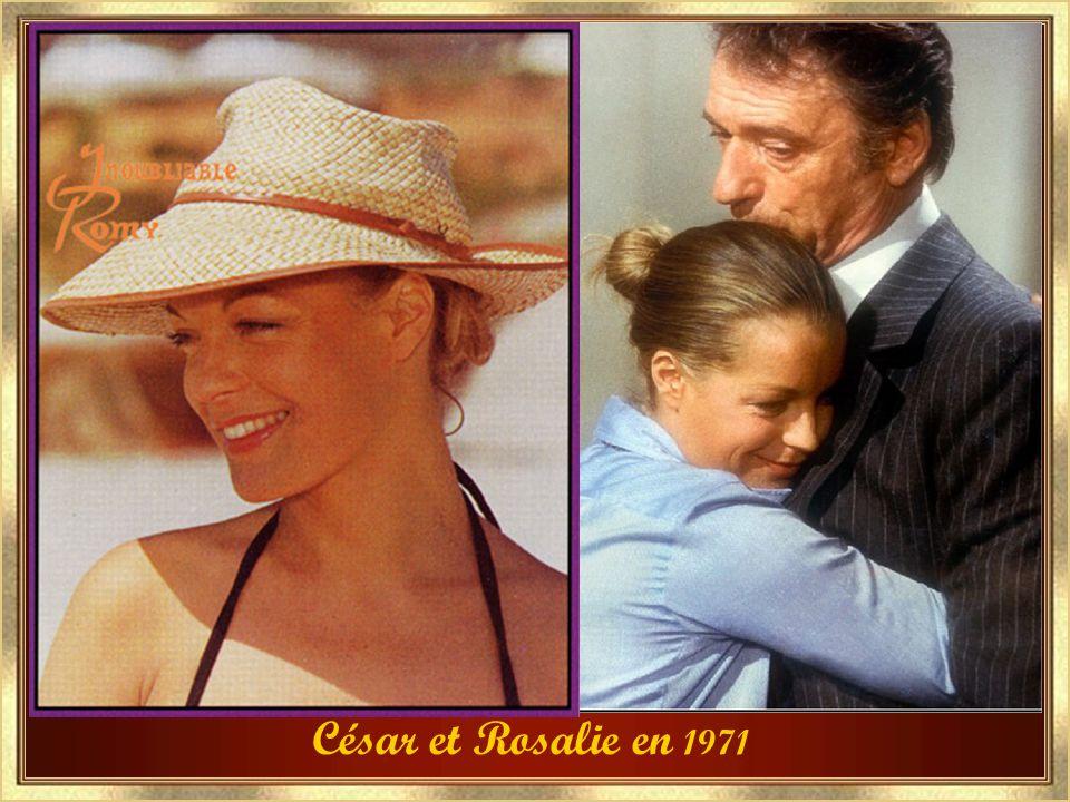 César et Rosalie en 1971
