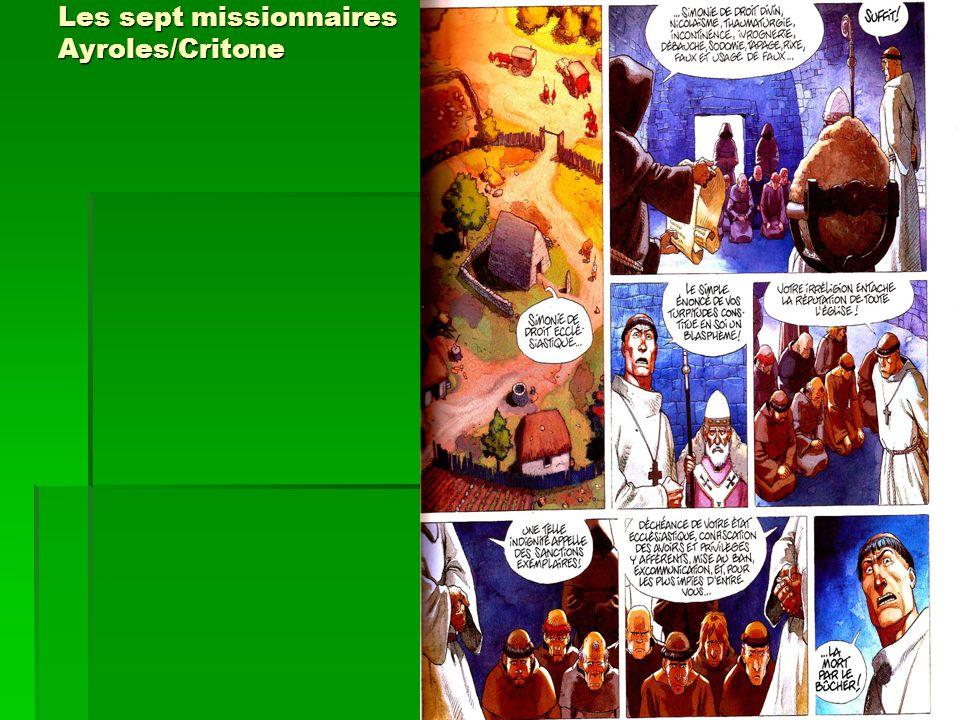 Les sept missionnaires Ayroles/Critone