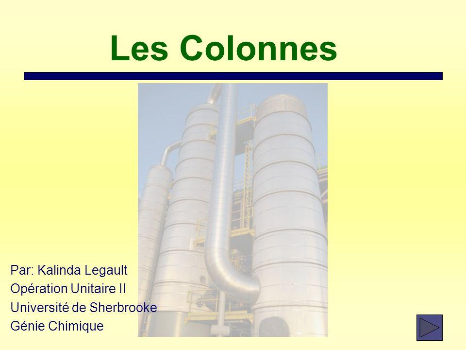 Les Colonnes Par: Kalinda Legault Opération Unitaire II