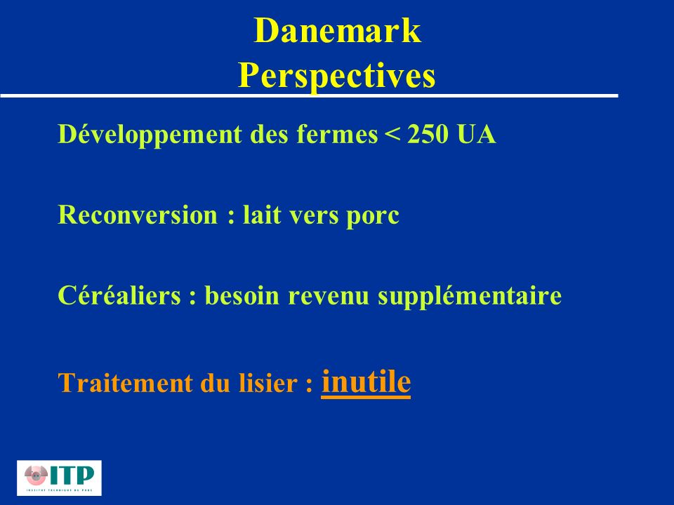 Danemark Perspectives