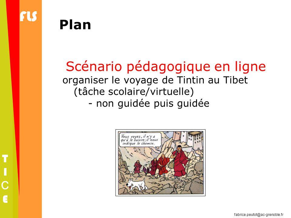 Scénario pédagogique en ligne