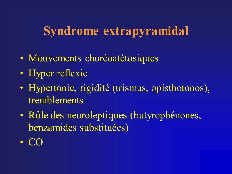 Syndrome extrapyramidal