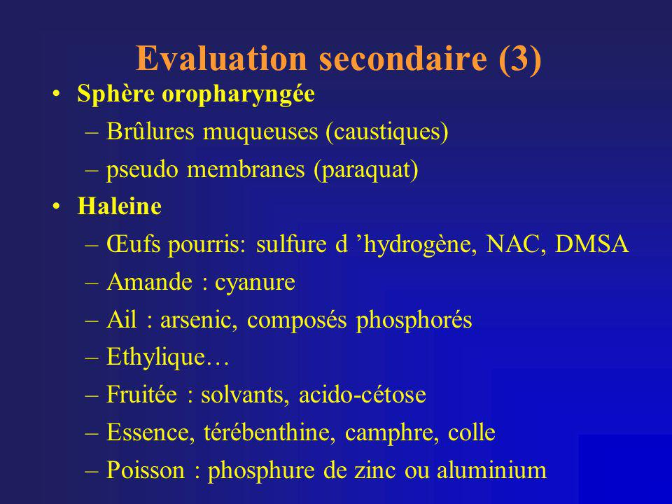 Evaluation secondaire (3)