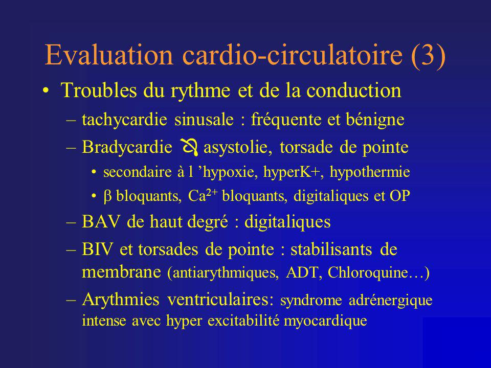 Evaluation cardio-circulatoire (3)