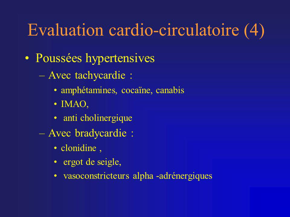Evaluation cardio-circulatoire (4)