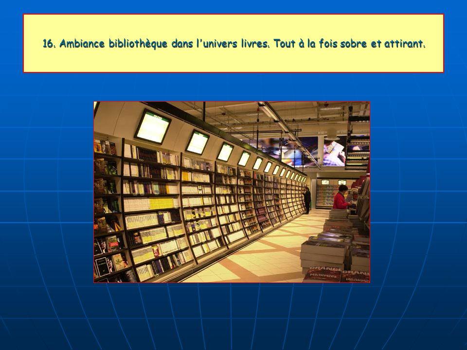 16. Ambiance bibliothèque dans l univers livres