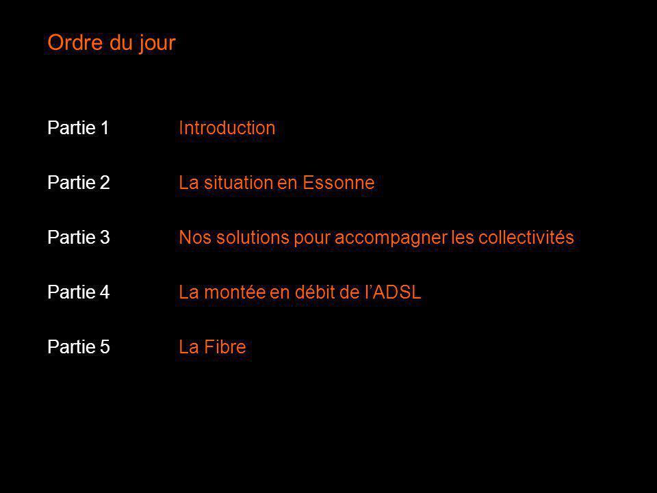 Ordre du jour Partie 1 Introduction Partie 2 La situation en Essonne