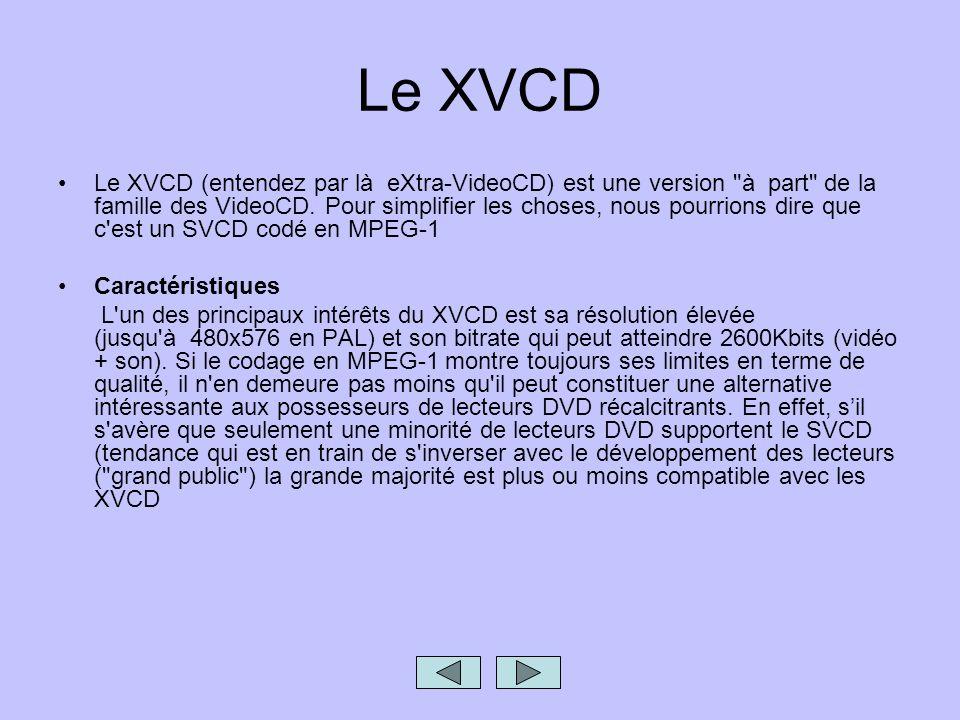 Le XVCD