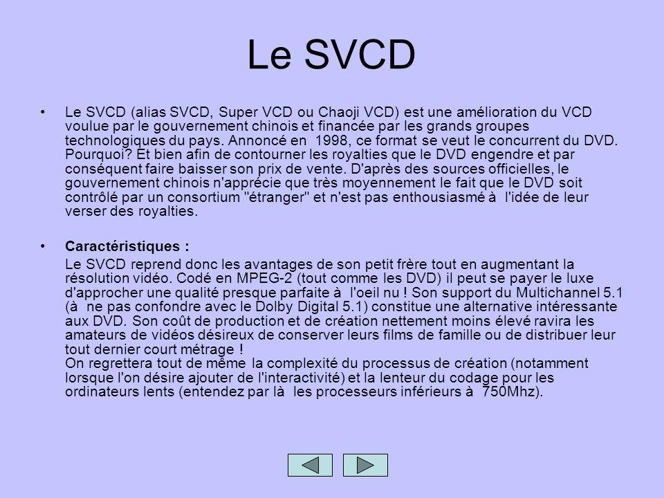 Le SVCD