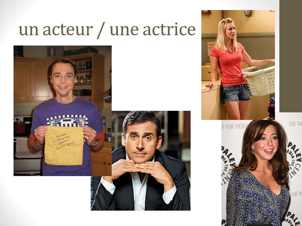 un acteur / une actrice