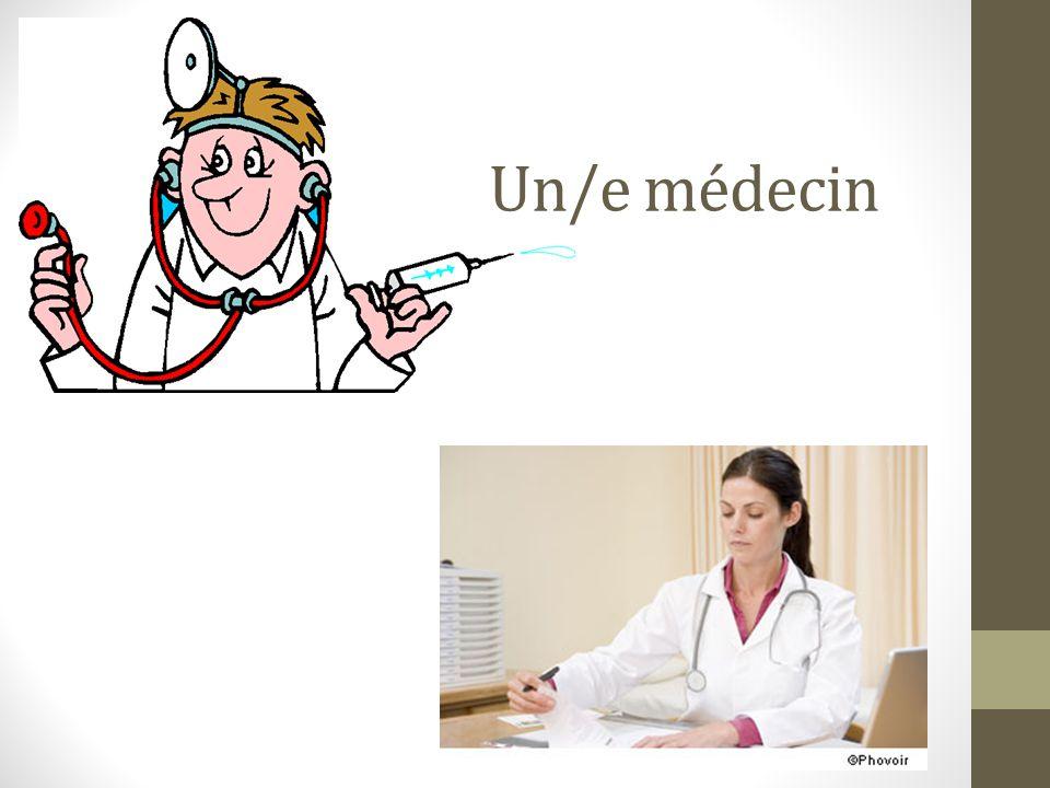 Un/e médecin