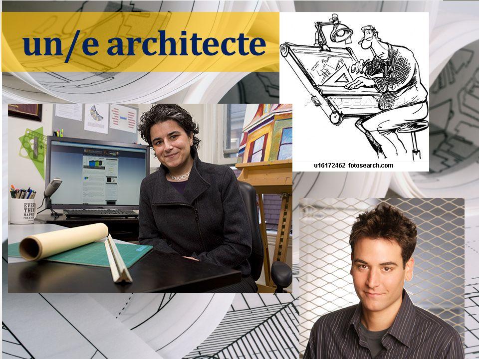 un/e architecte