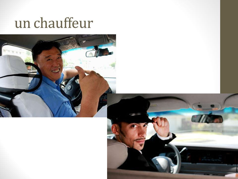 un chauffeur