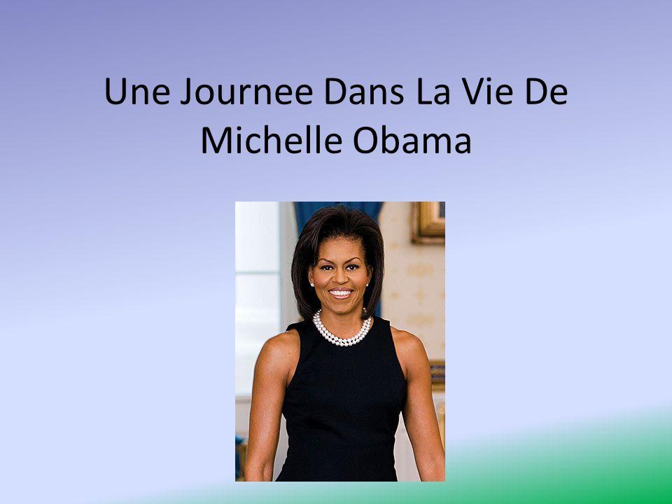 Une Journee Dans La Vie De Michelle Obama