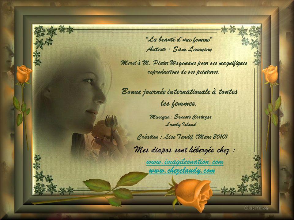 Bonne journée internationale à toutes les femmes. www.chezclaudy.com