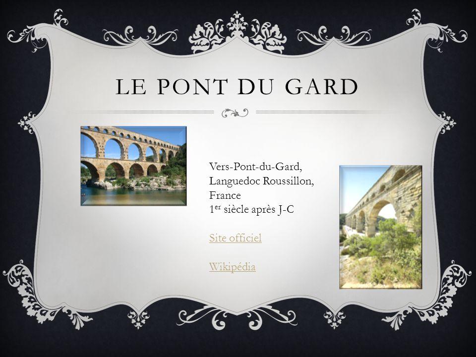 Le pont du Gard Vers-Pont-du-Gard, Languedoc Roussillon, France