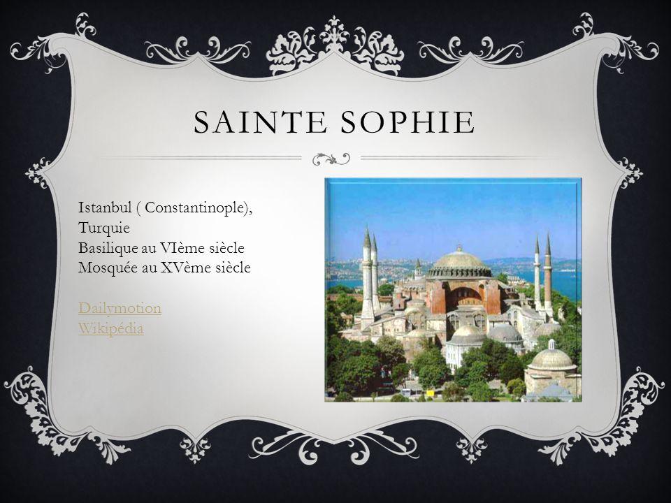 Sainte Sophie Istanbul ( Constantinople), Turquie