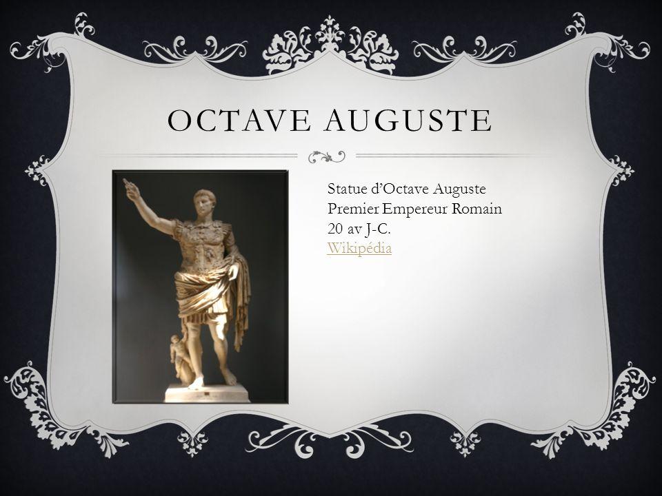 Octave Auguste Statue d'Octave Auguste Premier Empereur Romain