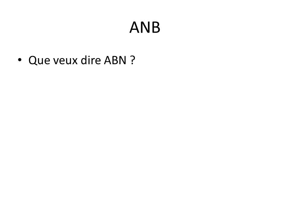 ANB Que veux dire ABN