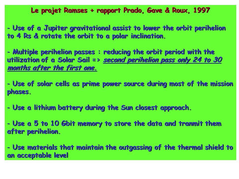 Le projet Ramses + rapport Prado, Gave & Roux, 1997
