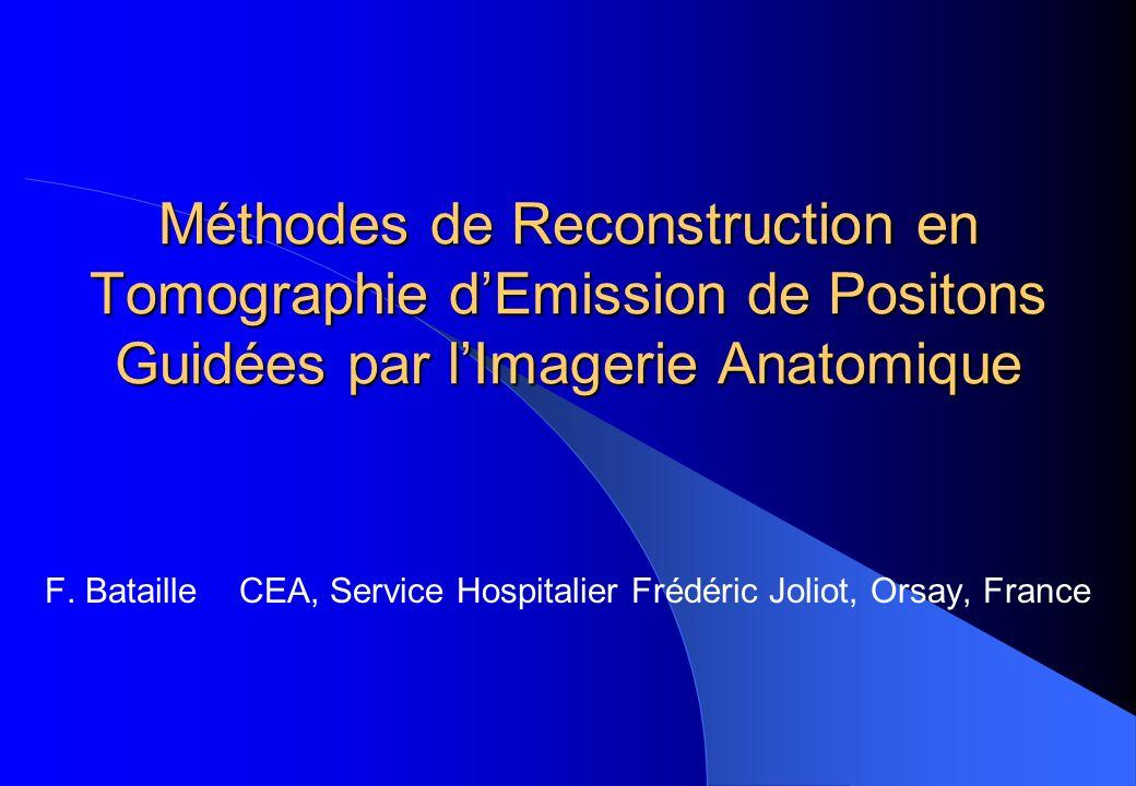 F. Bataille CEA, Service Hospitalier Frédéric Joliot, Orsay, France