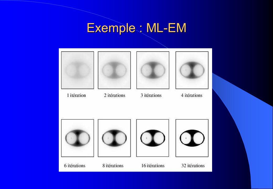 Exemple : ML-EM