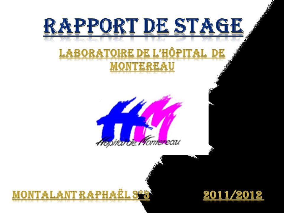 Laboratoire de l'hôpital de Montereau