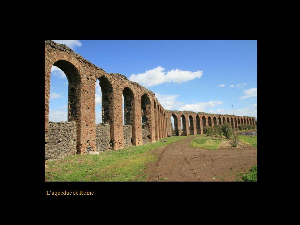 L'aqueduc de Rome