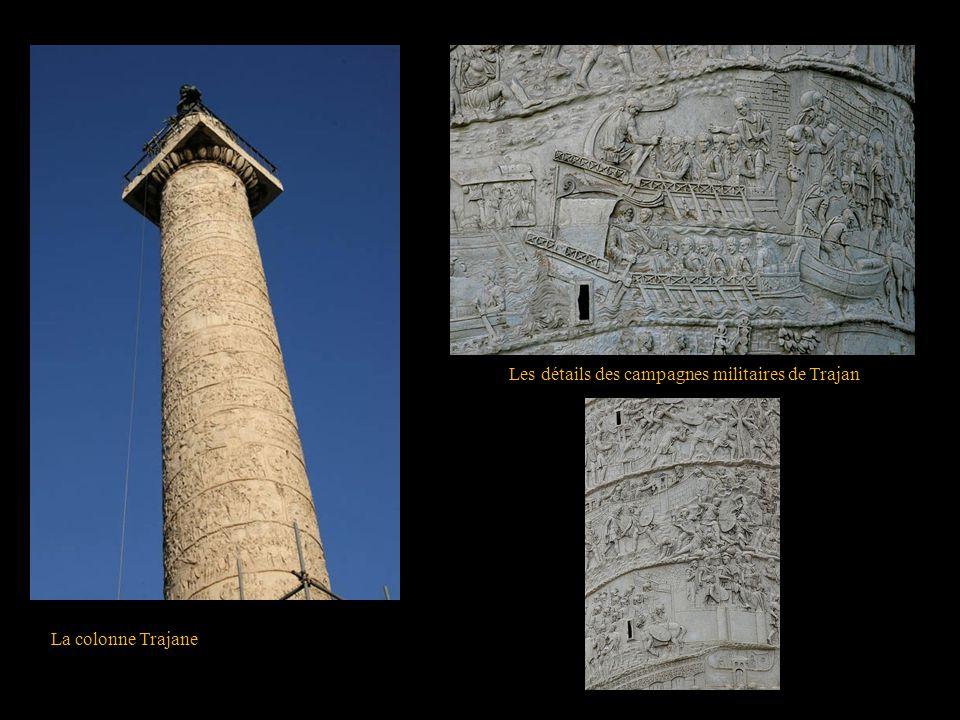 Les détails des campagnes militaires de Trajan