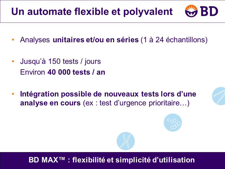 Un automate flexible et polyvalent