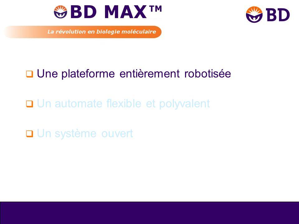 Une plateforme entièrement robotisée