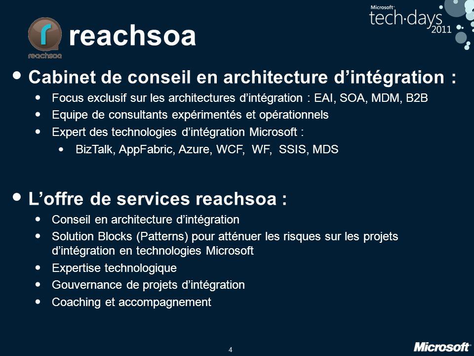 reachsoa Cabinet de conseil en architecture d'intégration :