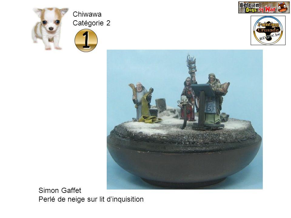 Chiwawa Catégorie 2 1 Simon Gaffet Perlé de neige sur lit d'inquisition