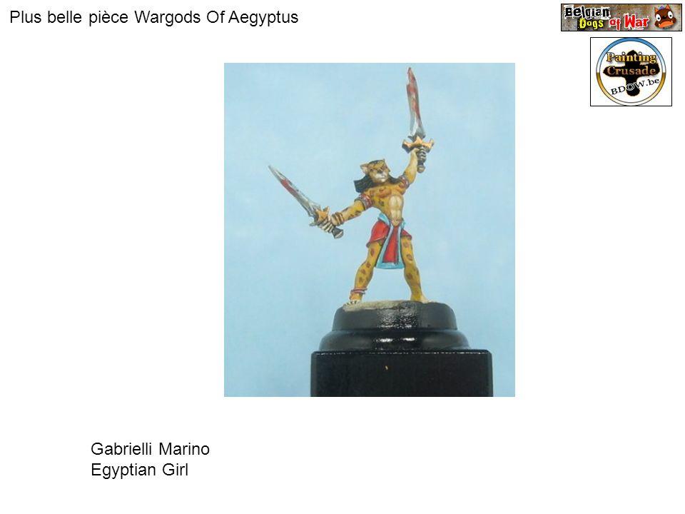 Plus belle pièce Wargods Of Aegyptus