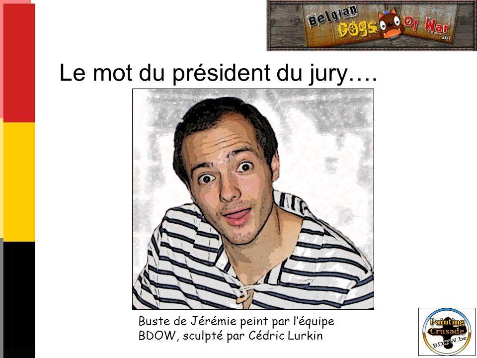 Le mot du président du jury….