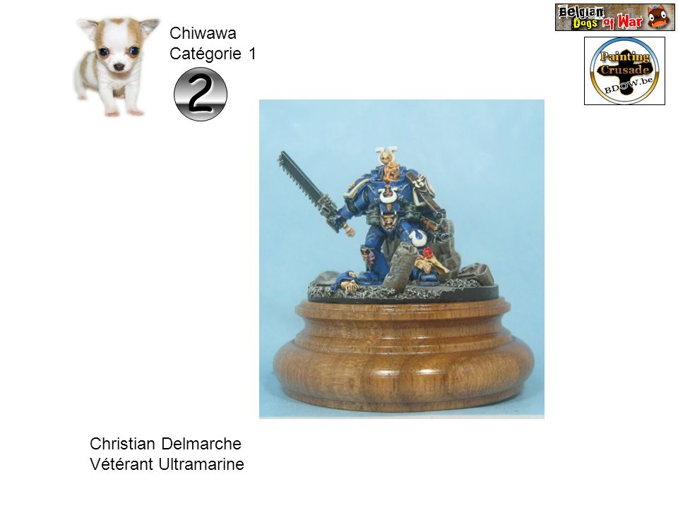Chiwawa Catégorie 1 2 Christian Delmarche Vétérant Ultramarine