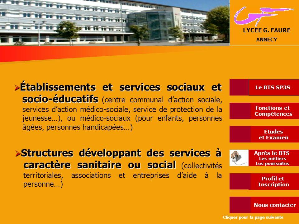 Établissements et services sociaux et