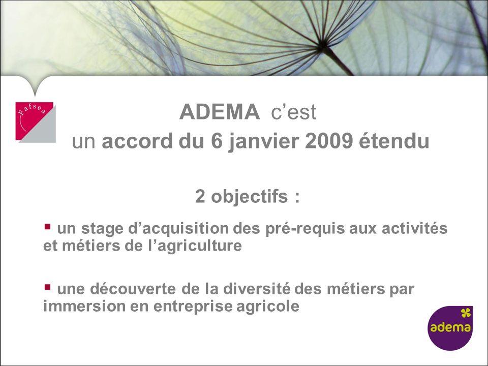 un accord du 6 janvier 2009 étendu