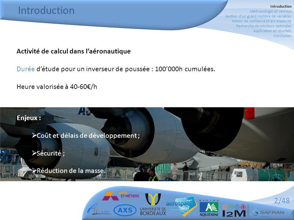 Introduction Activité de calcul dans l'aéronautique