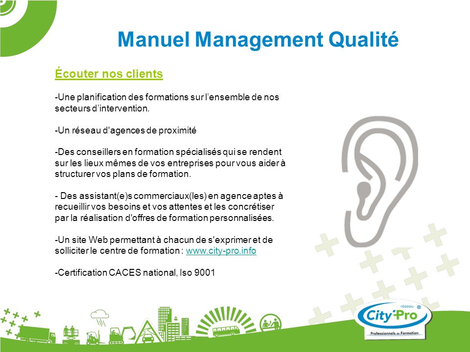 Manuel Management Qualité