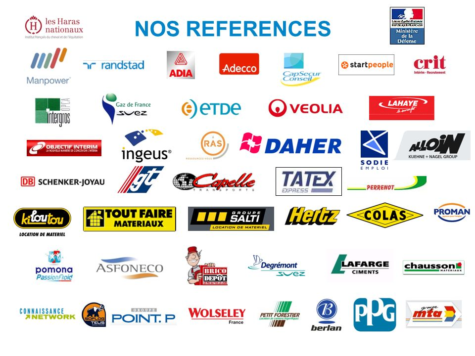 NOS REFERENCES