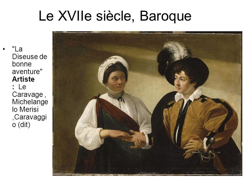 Le XVIIe siècle, Baroque