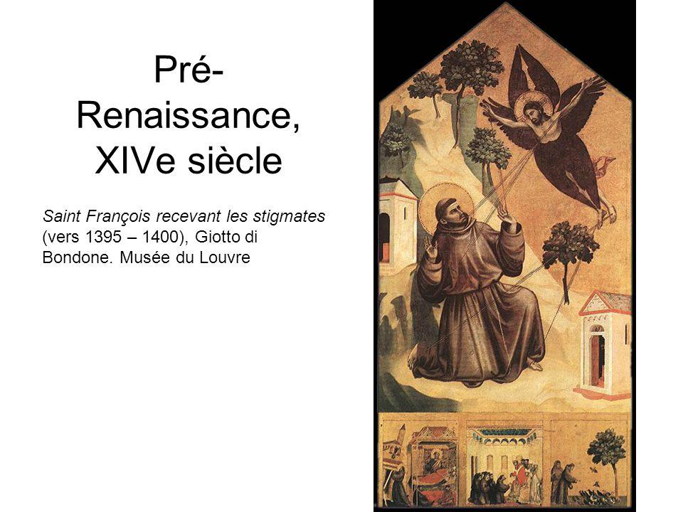 Pré- Renaissance, XIVe siècle