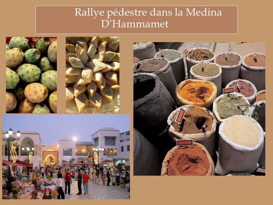 Rallye pédestre dans la Medina D'Hammamet